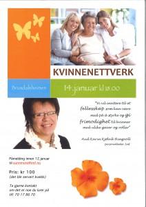 Kvinnenettverk 14.01.2015