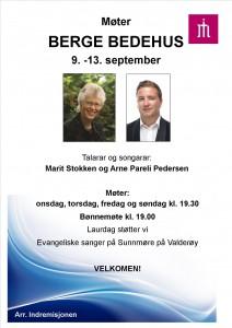 Møter med Marit Stokken og Arne P. Pedersen 2015