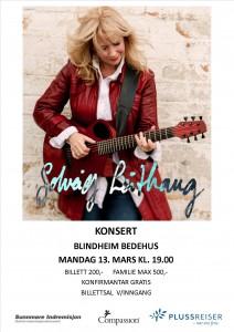 Plakat Solveig Leithaug