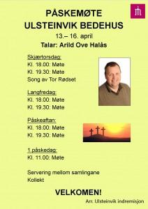 Påskemøte Ulsteinvik bedehus (ny versjon)