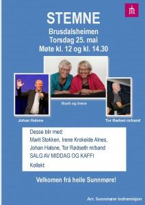 Plakat stemne Brusdalsheimen 2017