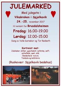Plakat Julemarked A4 2017