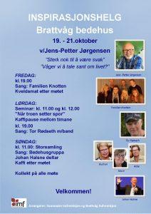 Inspirasjonshelg i Brattvåg